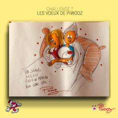 Les voeux de Piwooz #Piwooz #challenge #Dessin #amour #2021 #coloriage #couleur #citation Challenges, Books, Coloring Pages, Love, Quote, Color, Drawing Drawing, Libros, Book