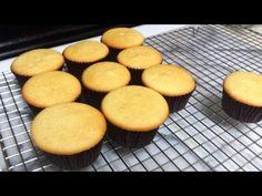 Cupcakes Estilo Esponja Receta : Cesarina Acosta Receta: (24-28 Cupcakes) 2 Tazas de Harina todo uso 2 Tazas de Azucar 2 Cucharaditas de Polvo de Hornear ¼ C...