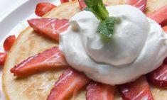 Receta de Tortitas americanas o Pancakes. Eva Arguiñano
