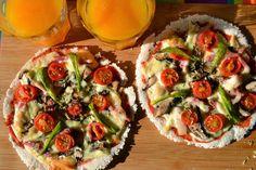 A rapariga do blog ao lado: Bases de piza sem gluten