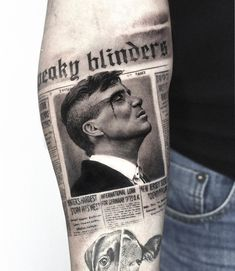 By order of the Peaky Blinders . Online store link in ‼️ bio . - - By order of the Peaky Blinders . Online store link in ‼️ bio . By order of the 👊🏼 Peaky Blinders . Online store link in ‼️ bio. Movie Tattoos, New Tattoos, Cool Tattoos, Tattoos Skull, Watch Tattoos, Tatoos, Peaky Blinders, Kunst Tattoos, Tattoo Drawings