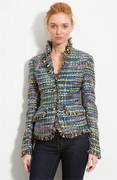 What Goes Around Comes Around 'Bennet' Tweed Jacket | Nordstrom - StyleSays