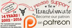 A trans advocate's perspective on Trans 101 questions   The TransAdvocate