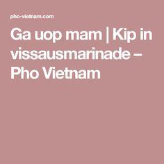 Ga uop mam | Kip in vissausmarinade – Pho Vietnam