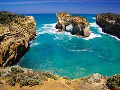 Victoria (Australia) Landscape   agua-cristalina-Australia-fondos-de-pantalla fotos para descargar ...