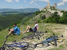 Bike trip by Peter Zachar, via Dreamstime