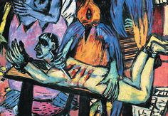 "Max Beckmann - ""Hell of Birds"""
