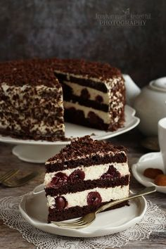 Torte Cake, Hungarian Recipes, Pavlova, No Bake Desserts, Cake Cookies, No Bake Cake, Macarons, Tiramisu, Food And Drink