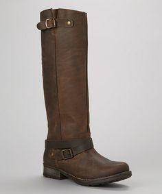 Brown Leather Taylor Boot #zulily #zulilyfinds