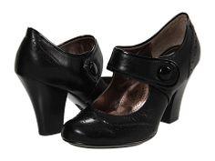 Sofft Fiona Black Odyssey Mary Jane pumps