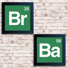 Quadros Breaking Bad — www. Breaking Bad Tattoo, Breaking Bad Arte, Breaking Bad Series, Geek Decor, Breking Bad, Bad Logos, Geek Party, The Carrie Diaries, Framed Quotes