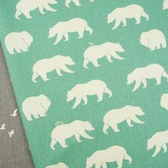 Birch Organic Bear Hike Mineral Canvas Fabric / cotton duck camp green heavy in Crafts, Sewing & Fabric, Fabric | eBay