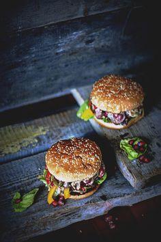 na krachym spodzie: Burgery z kaczką - Duck burgers