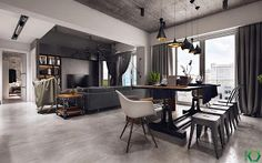 Marzua: Apartamento familiar industrial