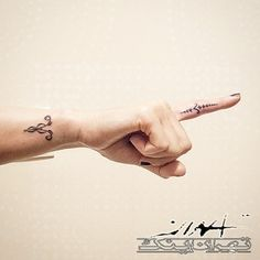 41 Adorable Tattoo Ideas For Every Zodiac Sign | Aries on the wrist