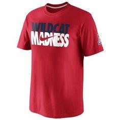 Nike Arizona Wildcats Tourney Madness T-Shirt Arizona Wildcats dcc726aea
