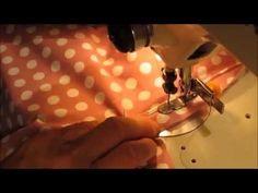 Cómo poner el cordón en el escote del traje de flamenca - YouTube