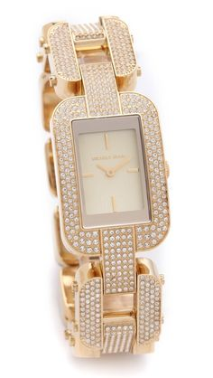 Michael Kors Brit Glitzy Watch, $285.