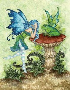 Amy brown fairies!!