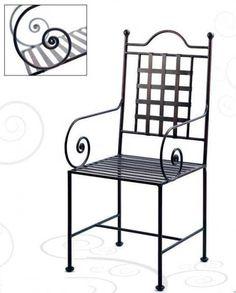 artesanias metalicas - Buscar con Google Iron Furniture, Garden Furniture, Furniture Design, Outdoor Furniture, Metal Outdoor Bench, Outdoor Chairs, Outdoor Decor, Pipe Bed, Wrought Iron Chairs