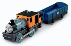 Thomas the Train: TrackMaster Bash with Car Motorized Engine by Fisher-Price, http://www.amazon.com/dp/B004NIF65E/ref=cm_sw_r_pi_dp_mU38qb13XMQEF