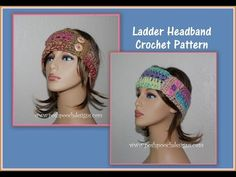 Posh Pooch Designs Dog Clothes: The Ladder Headband Crochet Pattern and Video | Posh Pooch Designs