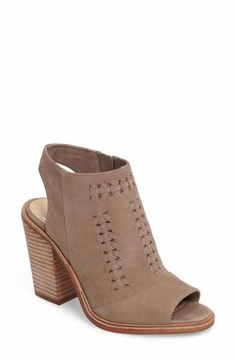 Vince Camuto Vince Camuto Katri Woven Bootie (Women) (Nordstrom Exclusive)  available at. Women's Sandals ...