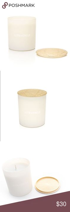 Lite + cycle Candle urban forest Brandnew lite and cycle candle in urban forest. Comes with gold etched lid--super gorge and also able to strike match on. https://liteandcycleshop.com/collections/essential-oil-candles/products/urban-forest-candle-ships-4-1-16 lite + cycle Other