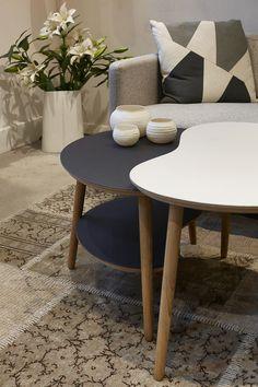 Designer Zoo - Karsten Lauritsen, bønnebordet, 4176/4132/4023, : #overflade #forbo #interiordesign #linoleum #bord #bønnebord #butik #designerzoo
