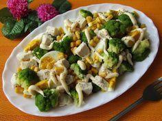 Brokuły to jedne z najzdrowszych warzyw. Mają wyjątkowe właściwości zdrowotne. Ja użyłam ich do przygotowania sałatki. Połączenie z kurczaki... Potato Salad, Food And Drink, Healthy Eating, Menu, Chicken, Vegetables, Cooking, Ethnic Recipes, Top 14