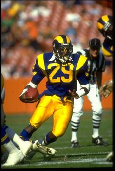 Eric Dickerson  1983 Rookie of the Year   1986 Offensive Player of the Year   6x Pro Bowler   5x First-Team All Pro