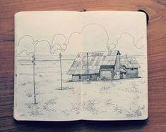 """jedavu: """"Jared Muralt's Sketchbook """""""