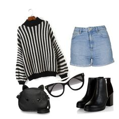 """""""I wish that outfit"""" by andy-barbz ❤ liked on Polyvore featuring Topshop, Loungefly and STELLA McCARTNEY"""