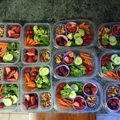 Sunday Food Prep Inspiration 8 - Healthy Eating İdeas For Exercise Raw Food Recipes, Diet Recipes, Cooking Recipes, Healthy Recipes, Healthy Meal Prep, Healthy Snacks, Diet Snacks, Healthy Breakfasts, Protein Snacks