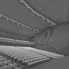 This is real-world size models of the modern concert hall made by the professional architect. Auditorium Architecture, Theatre Architecture, Auditorium Design, Home Theater Room Design, Theatre Design, What Is Digital, Hall Interior, Facade Design, Digital Marketing Strategy