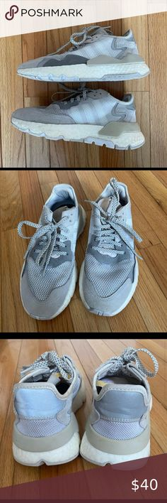 Adidas Nite Jogger -size 6 Adidas Nite Jogger Used but in great condition adidas Shoes Sneakers Adidas Women, Joggers, Shoes Sneakers, Best Deals, Closet, Things To Sell, Style, Fashion, Flats