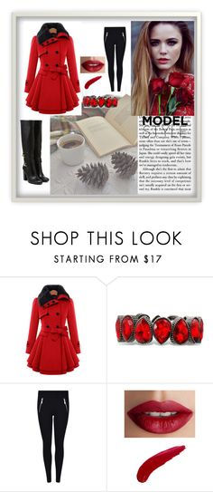 """""""model style"""" by turanovic97 ❤ liked on Polyvore featuring TheBalm"""