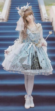 Its a bit much all together but I love the front and the idea.                Lolita