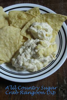 A'lil Country Sugar: Those Little Fried Chinese Rangoons: Crab Rangoon Dip ( serve with low carb crackers)