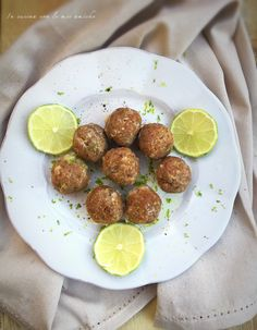 Polpette con zenzero e lime Carne, 3, Ethnic Recipes, Vegan