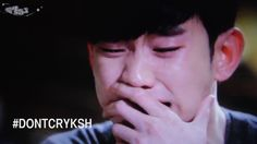Actor Kim Soo Hyun is the king of crying scenes in #kdramas Watch us try to make it better #DontCryKSH