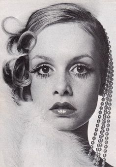 Twiggy! she validated the fact that some of us were SKINNY and it was ok.  Thank you for that.