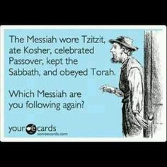 Yeshua is the Jewish Messiah! And, the disciples as well as Paul, continued in these things even after the Messiah's resurrection.