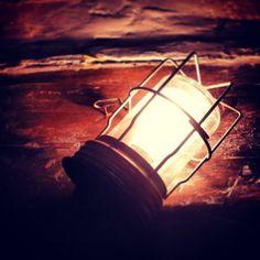 Vintage inspection light