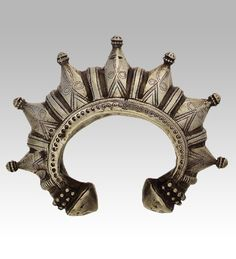 thursdayofravens:  Pakistan | A Swat silver bracelet | 20th century |