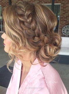 French Braid into a Messy Low Bun Prom Hair… French Braid into a Messy Low Bun Prom Hair http://www.nicehaircuts.info/2017/06/04/french-braid-into-a-messy-low-bun-prom-hair/
