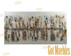 Pintura Abstracta Artem Cosette www.gotmuebles.mx