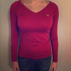 Lacoste long sleeve size 36 (XS) NWOT Lacoste long sleeve size 36 (XS) NWOT Lacoste Tops Blouses