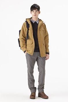 衣料品 2014 秋冬|コーディネートカタログ 紳士|無印良品ネットストア