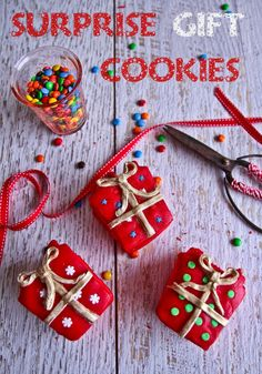 Surprise Candy Christmas Gift Cookies! ~ holidays lifestyle